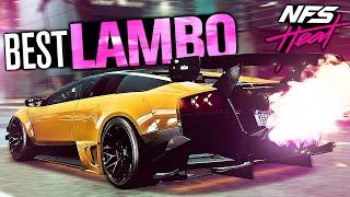 Need for Speed HEAT - BEST Lamborghini Customization! (Lamborghini Murcielago)