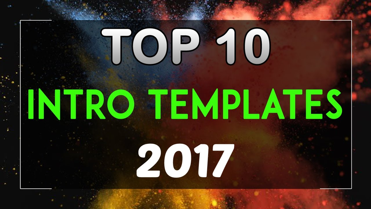 top 10 free intro templates 2017 sony vegas pro 13 14 download +, Powerpoint templates