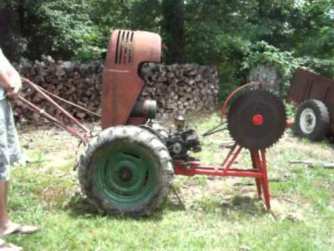 1953 David Bradley with Cordwood Saw Implement