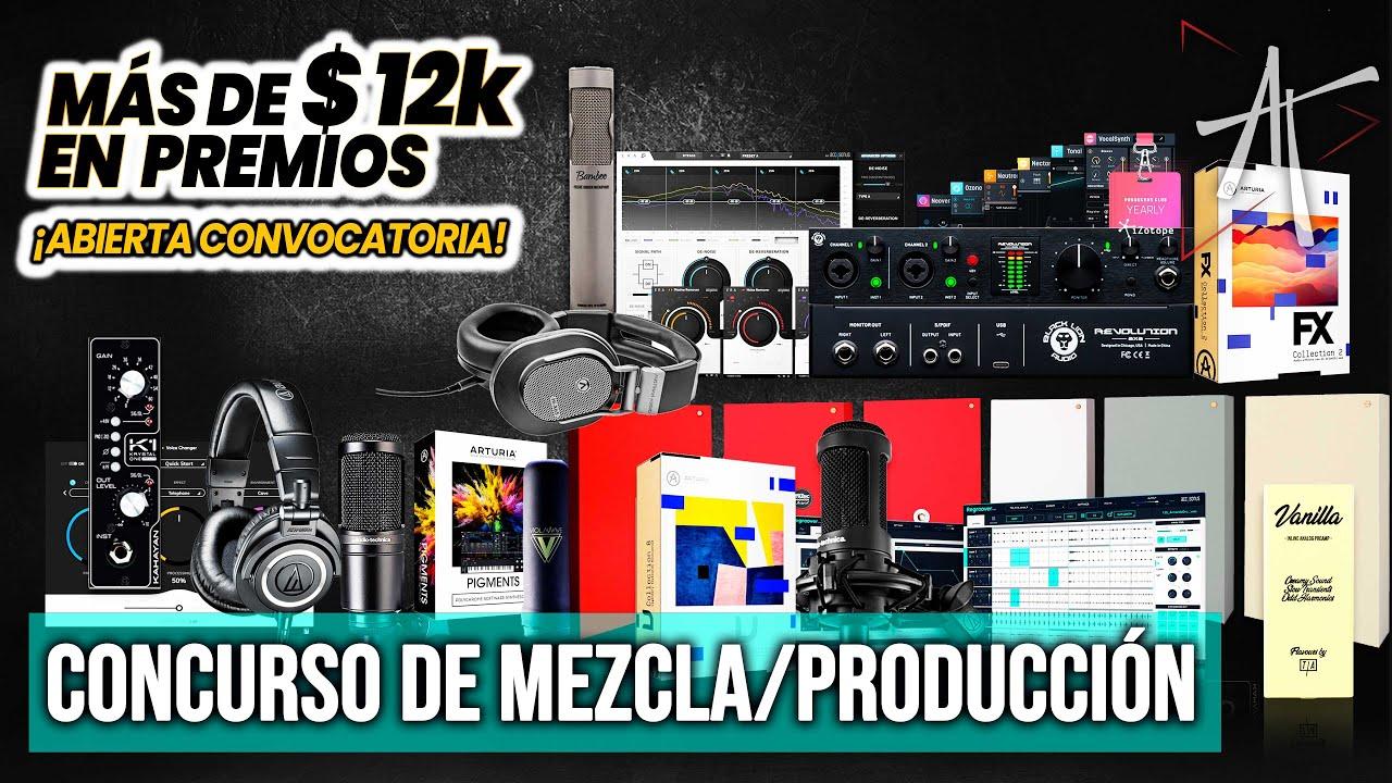 🏆 CONCURSO de Mezcla   Mastering y Producción   Beatmaking by MASTERFATHER