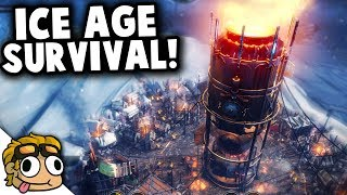 FROSTPUNK ICE AGE COLONY SURIVIVAL! | Frostpunk Gameplay PC