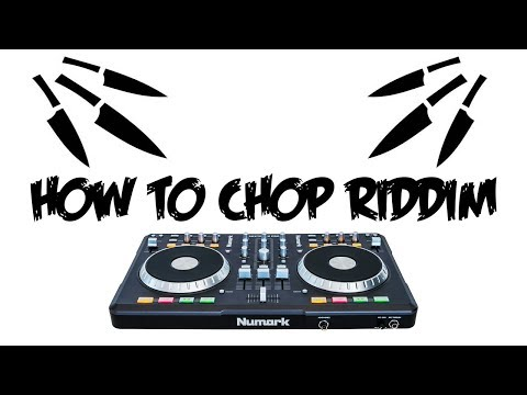 How to Chop/Double Drop Riddim (FOR BEGINNERS)