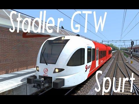 NIEUW, TS2015, Stadler GTW (Spurt), (NL)