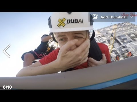The new zipline in Dubai Marina is open to the public and this is exactly what it feels like....
