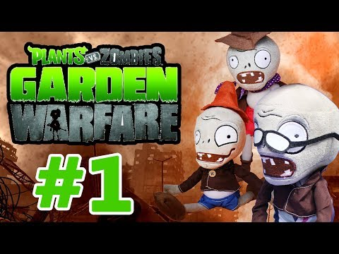 Plants vs Zombies Plush Toys: Garden Warfare - PART 1 | MOO Toy Story
