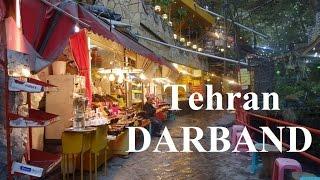 Tehran (Beautiful relaxing north Tehran) Darband Part 12