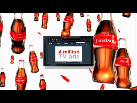 Coke | The Worlds First Fully Personalised TV Campaign | Cannes Lions 2015 | SILVER, Use of Screens