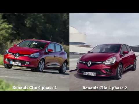 Renault Clio 4 Phase 1 Vs Renault Clio 4 Phase 2 Youtube