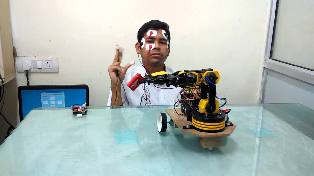 Robotic arm wheelchair carrying object - YouTube