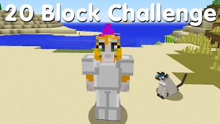 Minecraft PS4 - 20 Block Challenge - Lion Tamer (20)