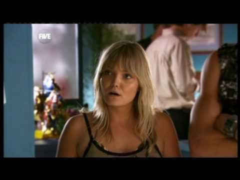 Home and Away - Mink punches John Palmer