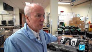 Coronavirus: la mobilisation d'une usine de fabrication de respirateurs de l'est de la Fr