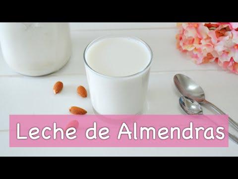 Básicos: Cómo hacer LECHE DE ALMENDRAS | Leches vegetales