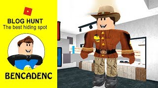 ROBLOX BLOG HUNT | THE BEST HIDING SPOT