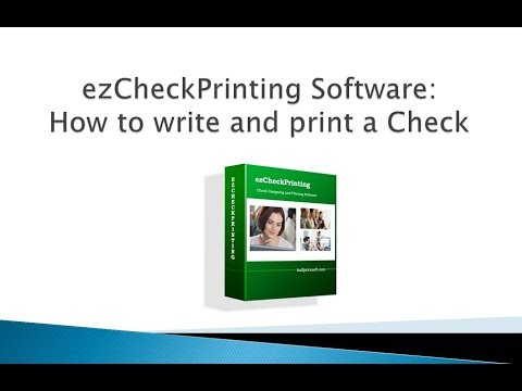 Easy-to-Use Check Writing and Printing Software for All Sized Businesses