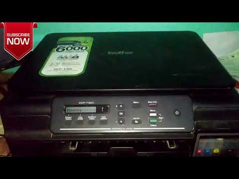 How to clean Printer Head ...........Brother DCP-T300