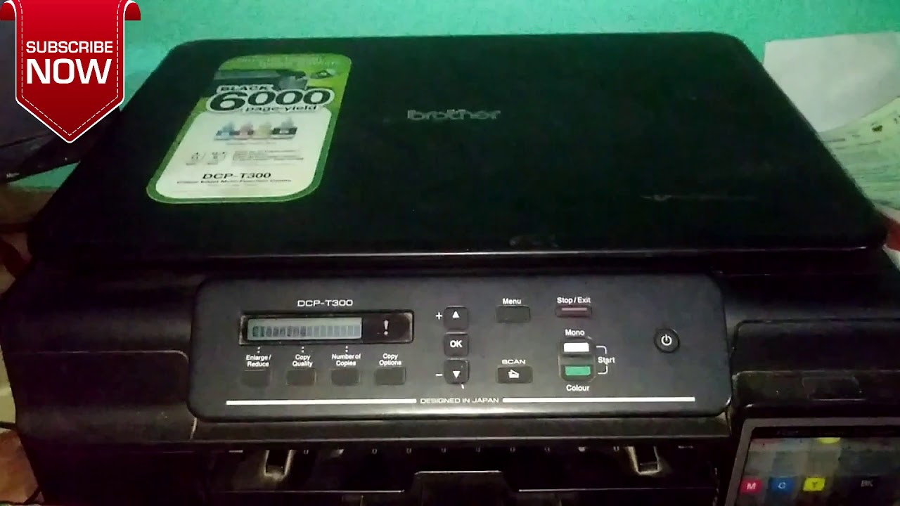 How to clean Printer Head            Brother DCP-T300
