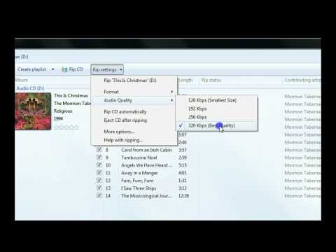 How to Convert CD Audio to MP3