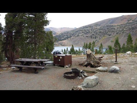 Saddlebag Lake Campground (Inyo National Forest) west of Lee Vining, California