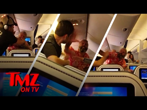 Best Airplane Fight We've Ever Seen | TMZ TV