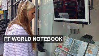 London Living Costs Hitting Young People Hard   FT World Notebook
