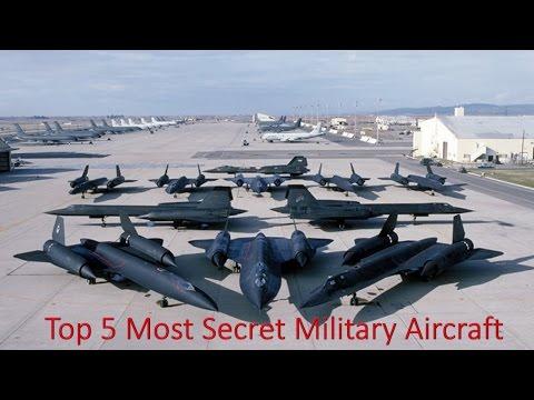 Top 5 Most Secret Military Aircraft - 2016