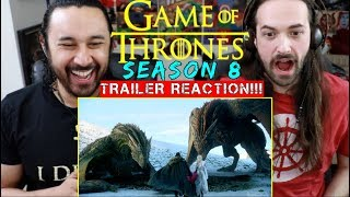 GAME OF THRONES | SEASON 8 | Official TRAILER - REACTION!!!