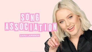 Zara Larsson Sings Daft Punk, Beyoncé, and Whitney Houston in a Game of Song Association | ELLE