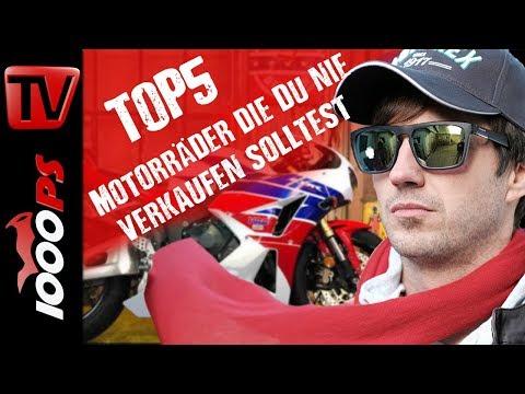 Top 5 - Motorräder die Du nie verkaufen solltest