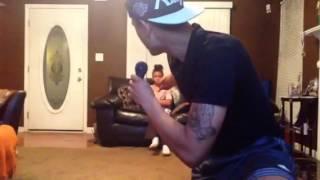 MightyDuck karaoke Part 2 FT.His little sister Wiggle By Ja
