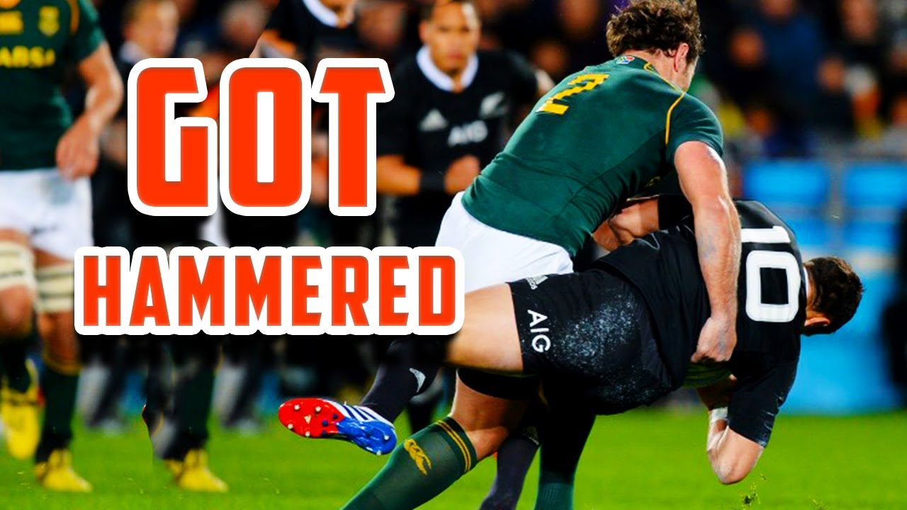 When Rugby Players Got Hammered🔥🔥 #hits