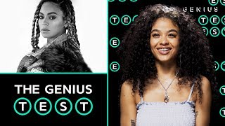 India Love Takes The Beyoncé Quiz | The Genius Test
