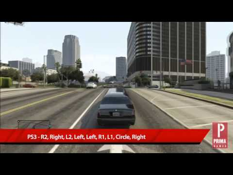 GTA 5 Cheats: Spawn Limo | Strategy | Prima Games