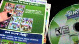 UNBOXING THE SIMS 3 MASTER SUITE STUFF