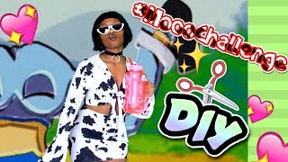 "MOOOOOD ! DIY DOJA CAT ""MOOO CHALLENGE"" INSPIRED 2-PIECE SET 