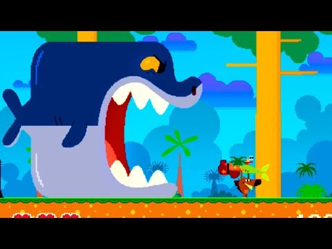 Zig & Sharko: Pixel Run (by Xilam Animation) Android GamePlay FullHD