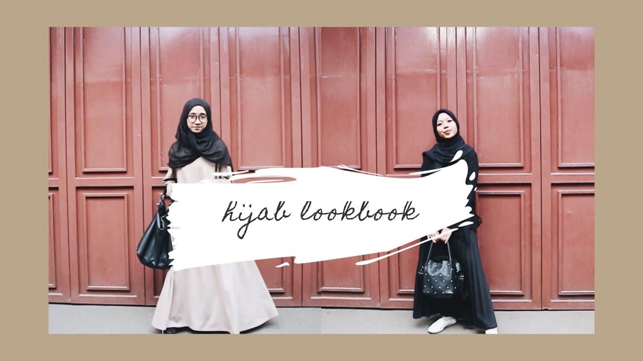 [VIDEO] - apa yang dipakai selama 5 hari | inspirasi outfit hijab lookbook 1