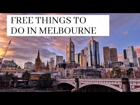 Free Activities to do in Melbourne after Lockdown