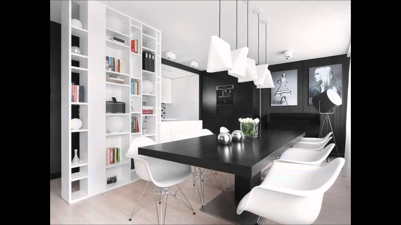 mustavalkoinen sisustus  aina tyylikäs, raikas ja moderni