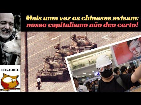 MAIS UMA VEZ OS CHINESES AVISAM: NOSSO CAPITALISMO NÃO DEU CERTO