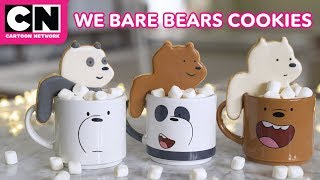 DIY We Bare Bears Mug Hugging Cookies | LET'S BUILD