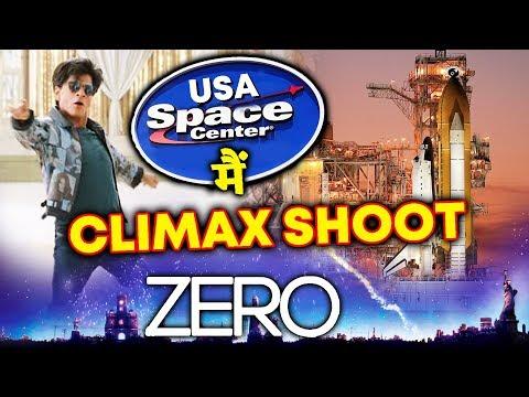 ZERO CLIMAX Shoot At U.S. Space & Rocket Center | Shahrukh Khan, Anushka Sharma, Katrina Kaif