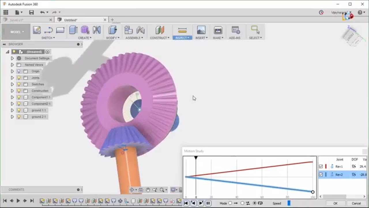 fusion 360 bevel gear complete tutorial