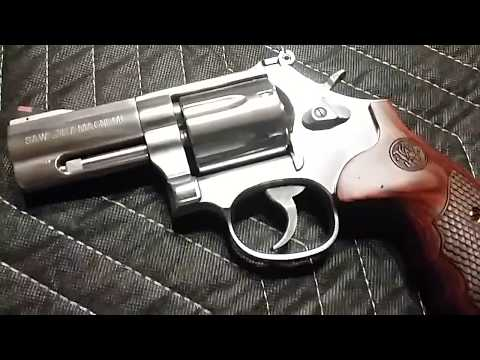 THE SEXUALIZATION OF THE AMERICAN HANDGUN- SMITH & WESSON 686 PLUS-357 MAGNUM- 3 INCH