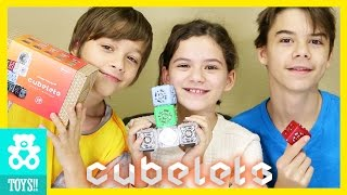 EARLY CHRISTMAS GIFT! FROM MODULAR ROBOTICS! CUBELETS! TOYS!  |  KITTIESMAMA
