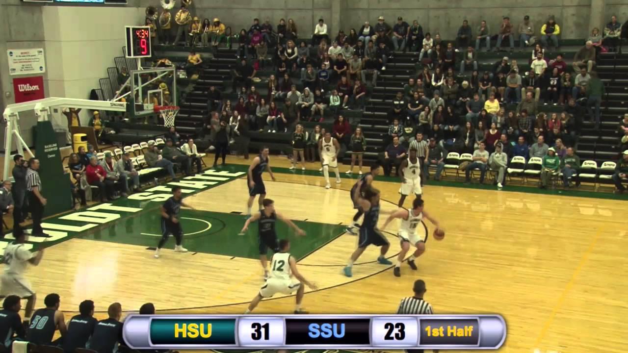 Humboldt State Men S Basketball Vs Sonoma State Highlights 12 11 15
