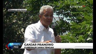 Seusai Demo, Ganjar Pranowo Ajak Mahasiswa Perbaiki Taman