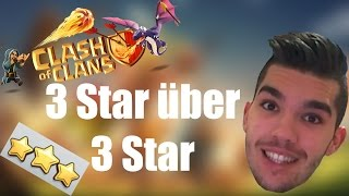 CLASH OF CLANS: 3 Star über 3 Star ✭ Let's Play Clash of Clans [Deutsch/German HD]