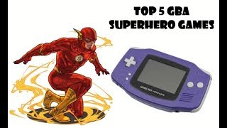 Top 5 GBA Superhero Games - Retro Lukman
