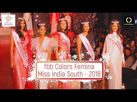 FBB Colours Femina Miss India South - 2018